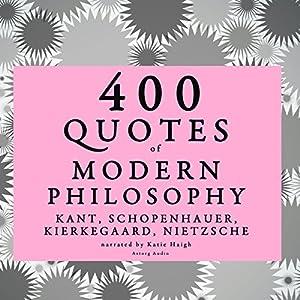 400 Quotes of Modern Philosophy | Livre audio
