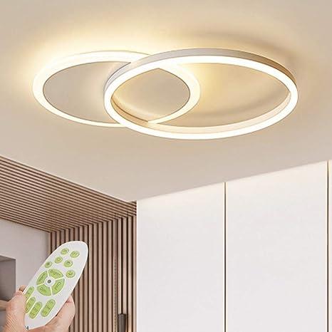 Lámpara de techo LED Lámpara de sala de estar regulable moderna Lámpara de techo de diseño con control remoto Lámpara de techo de moda Minimalista ...