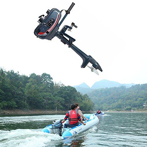 Boat Engine 2-Stroke Outboard Motor CDI system 2.5kw(3.5HP) Fishing Boat ()