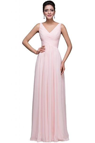 5f21d6800 Sunvary Romantic de volantes gasa correa de espagueti vestidos de novia