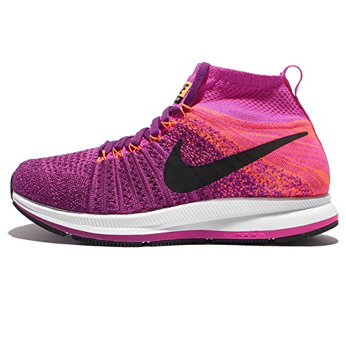 f8d0f779879e Galleon - NIKE Girls ZM Pegasus All Out Flyknit Big Kid Lightweight Running  Shoes Purple
