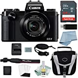 Canon G5X Digital Camera Bundle + Canon PowerShot G5X Deluxe Accessory Kit - Including EVERYTHING You Need To Get Started