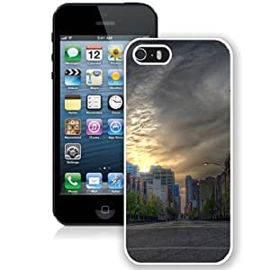 Beautiful Unique Designed Cover Case For Iphone 5/5S Cover With Spring Bird Black Phone Case