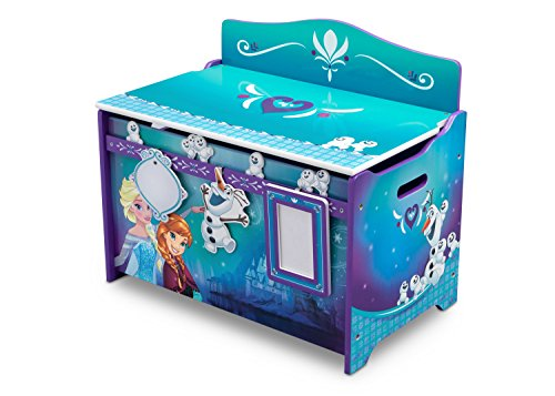 Disney Frozen Deluxe Toy Box with Track Bud s Furniture