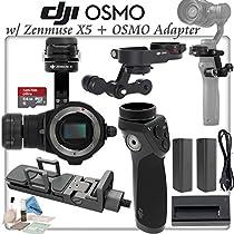 DJI Zenmuse X5 (Lens Excluded) & X5 OSMO Adapter & OSMO Handle Bundle