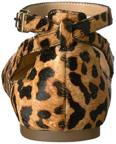 Franco Sarto Kvinders Sylvia Ballet Flad Leopard Kamel R5WtYnc