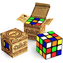The Cube: Turns Quicker and More Precisely Than Original; Super-durable With Vivid Colors; Best-selling 3x3 Cube...