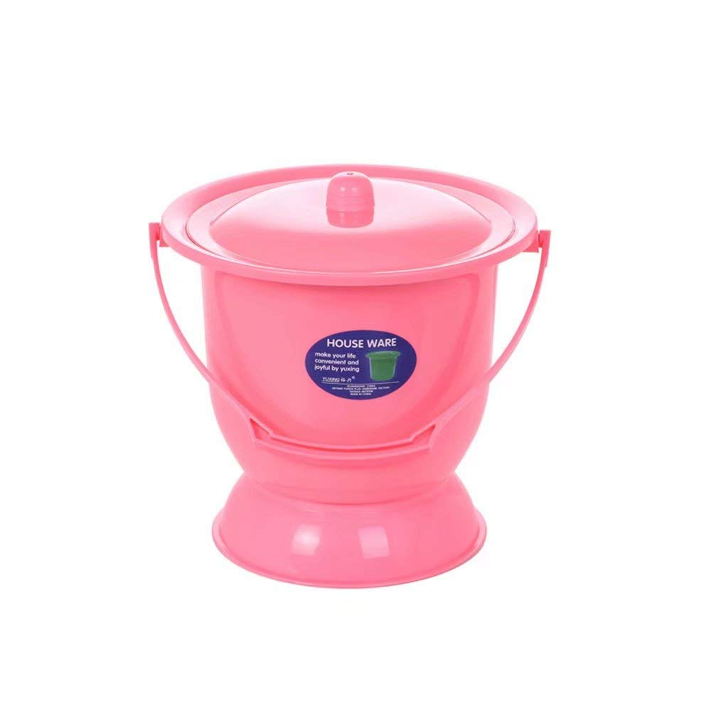 Portable Toilets, Plastics, Children, Pregnant Women, Female Urine Buckets, Adults with lids, Urine pots, urinals Spittoon Many Colours by GG-Urinal