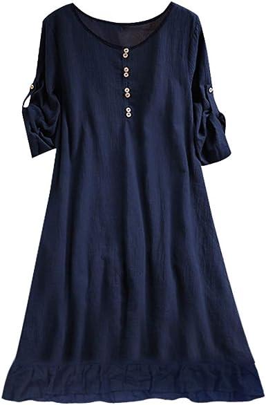 Vestidos Mujer, LANSKIRT Faldas de Verano Mujer Tallas Grandes O ...