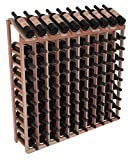 Wine Racks America Redwood 10 Column 10 Row Display Top Kit. Unstained For Sale