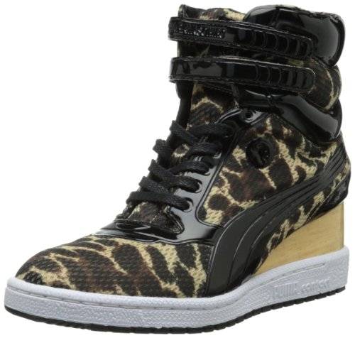 Siero Di Cagliata High-top Di Cagliata High-top Leopard-print My-77 Puma Womens
