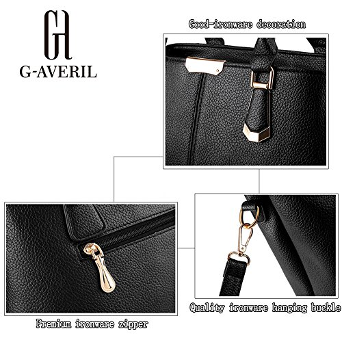 G-AVERIL, Borsa a mano donna Nero Black