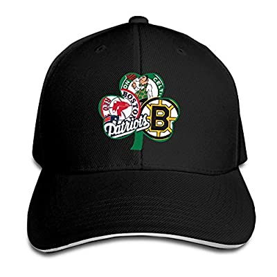 Summer Boston Fan Sport Flag Decal Vinyl Bruins Snapback Black Sandwich Peaked Cap