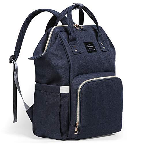 Baby Changing Bag, Tiscen Multi-Function Diaper Bag Backpack, Large...