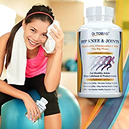 Dr. Tobias MSM Glucosamine Chondroitin Joint Supplement