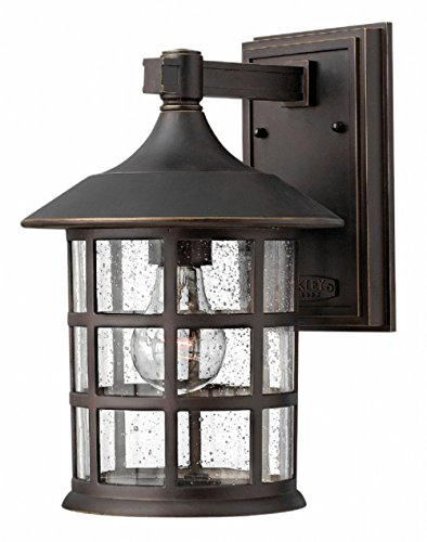 Hinkley 1804OZ Traditional One Light Wall Mount from Freeport collection in Bronze/Darkfinish,