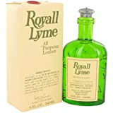 Royall Lyme Aftershave Lotion Cologne for Men, 8 Oz.