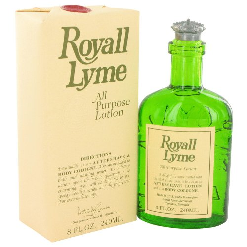 Royall Lyme Aftershave Lotion Cologne for Men, 8 Oz. by Royall