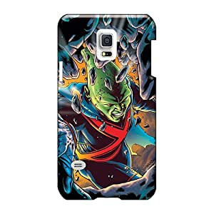 Samsung Galaxy S5 Mini JHb29299hwFe Unique Design Nice Martian Manhunter I4 Series High Quality Cell-phone Hard Cover -MarcClements