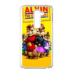 Alvin and the Chipmunks LG G2 Cell Phone Case White MWN