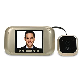 "3.2/"" LCD HD Digital Peephole Door Viewer Wide Angle Doorbell Video Color Camera"