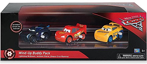 Disney Cars 3 - Wind-Up Buddy - Co Touring Car