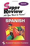 img - for Spanish Super Review book / textbook / text book
