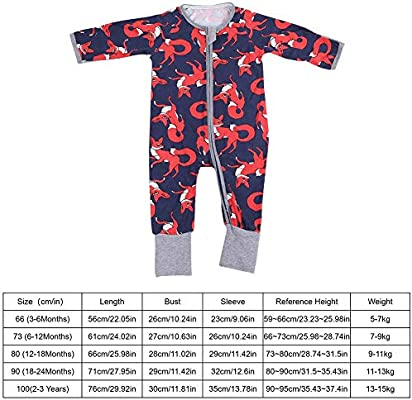 100/% algodón orgánico 3-6 meses Baby/'s Manga Larga Mameluco-a Estrenar