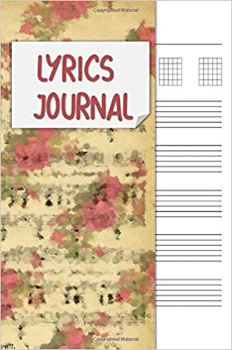 Lyrics journal songwriting notebook cornell notes and staff paper lyrics journal songwriting notebook cornell notes and staff paper with room for guitar chords lyrics and music songwriting journal for musicians mightylinksfo