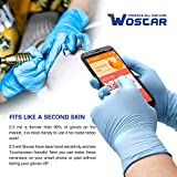 Wostar Nitrile Disposable Gloves 3 Mil Pack of