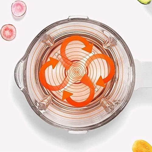 MISLD Presse-Agrumes Électrique 1,75 L À Grand Volume d'orange Citron Pamplemousse Multifonction Accueil Machine Chauffage Cuisine Intelligente Squeezer Automatique Lait, Or