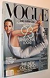 Vogue (USA) Magazine, October 2002 - Christy Turlington Cover
