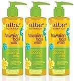 Alba Botanica Hawaiian Coconut Milk Face Wash, 8 Ounce – 3 per case. Review