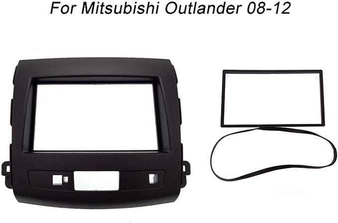 PSOIHGTFS 2Din Radio de Coche Fascia Ajuste para el Panel de Interfaz Mitsubishi Outlander 2008-2012 Auto Stereo en Dash Kit de Montaje del capítulo,178x100mm: Amazon.es: Deportes y aire libre