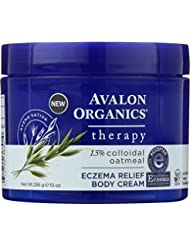 Avalon Organics Therapy, Eczema Relief Body Cream, 10.0 Ounces