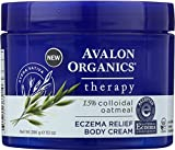 body cream organic - Avalon Organics Eczema Relief Body Cream, 10 oz.
