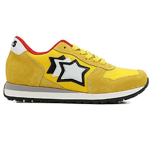 Atlantic Stars , Jungen Sneaker gelb gelb