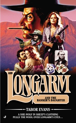 book cover of Longarm and the Banker\'s Daughter