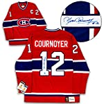 52256f24290 Yvan Cournoyer Montreal Canadiens Autographed Signed Fanatics Vintage  Hockey.