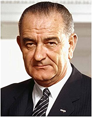 LYNDON JOHNSON Official Presidential White House Photo