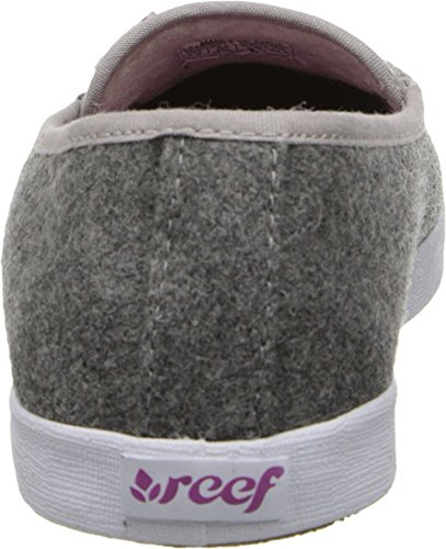 Reef Womens Reef Salty Island Flat Dark Grey