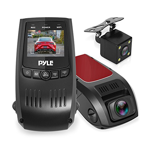 Car Dash Cam Sony Sensor FHD 1080p 4-Lanes Wide Angle 2.45'' IPS Dashboard Camera Recorder with 2-Port Charger WDR Night Vision G-Sensor Parking Monitor