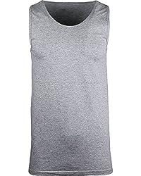 Navy Premium Mens Tank Top Shirt S