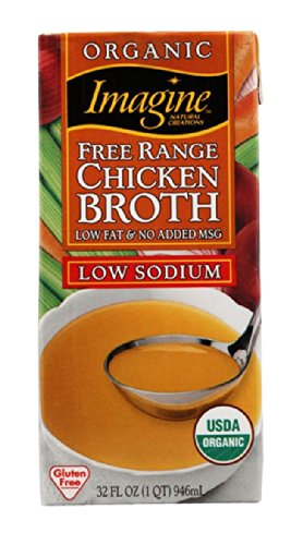 Imagine Organic Range Chicken Sodium product image