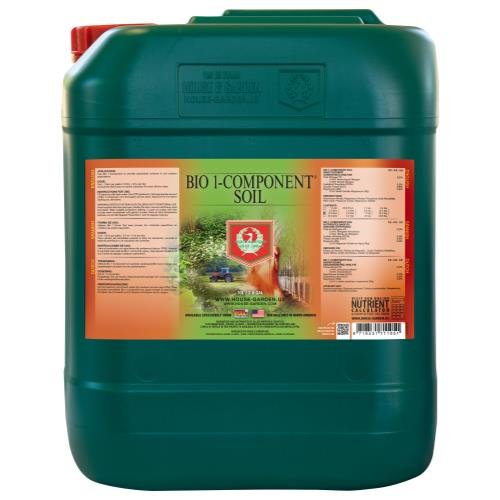 House & Garden Bio 1-Component Soil 0.2-0.2 - 0.5 House and Garden Bio 1-Component Soil 10 Liter (2/Cs) ()