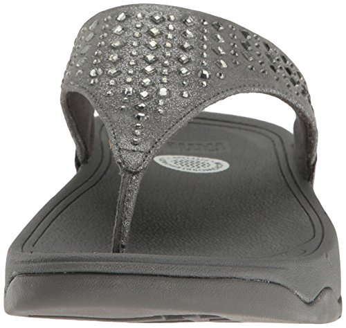 FitFlop Toe Pewter Flip Novy Flop Women's Post EP4qrwZBE