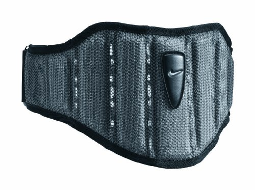 Nike Structured Training Belt (Midnight Fog/Cool Grey/Black, (Gloves Classic Belt)