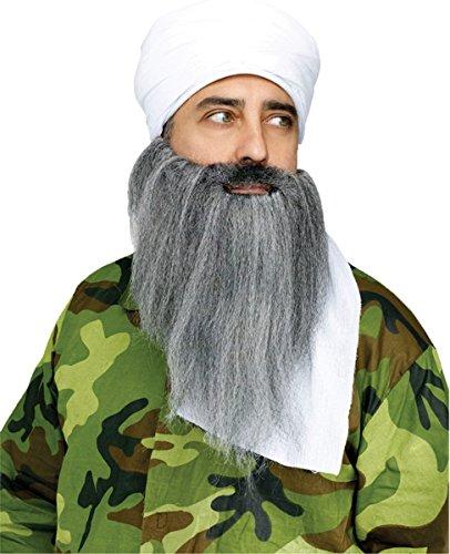 [Turban & Beard Instant Costume Costume Accessory Set] (Turban And Beard Costume)