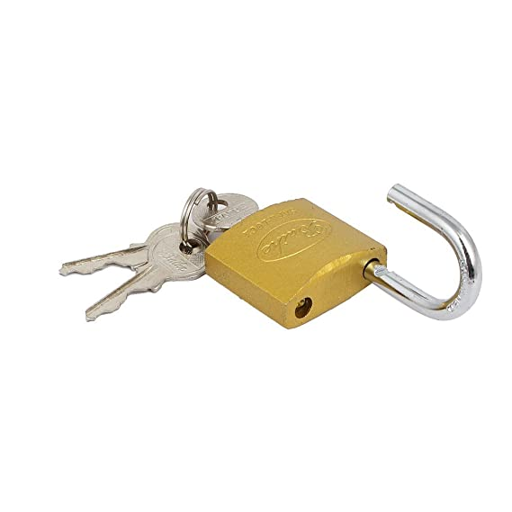 eDealMax Muebles de herramientas caja del cajón 50mmx32mmx13mm Seguridad armario de metal candado w Teclas - - Amazon.com