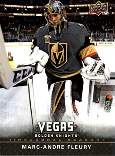 2017-18 Upper Deck Fanatics Vegas Golden Knights Inaugural Season Complete Hockey Base Set of 50 Cards MINT Includes Marc-Andre Fleury Engelland William Karlsson Malcolm Subban Alex Tuch Rookie and many other Knights only found here Plus Cards commemoratin